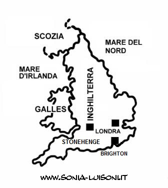 Cartina Geografica Inghilterra E Scozia.Inghilterra